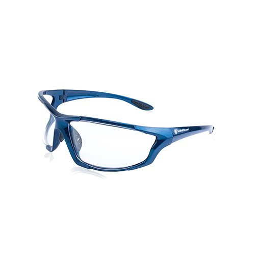 Smith & Wesson Major Full Frame Shooting Glasses with No-Slip Rubber, Impact Resistance and Storage...