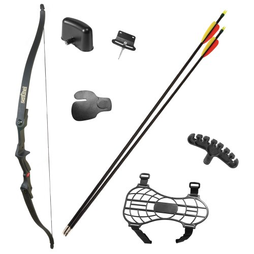 CenterPoint Archery ABY215 Sentinel Youth Recurve Bow, Right Hand , Black, 20 lbs