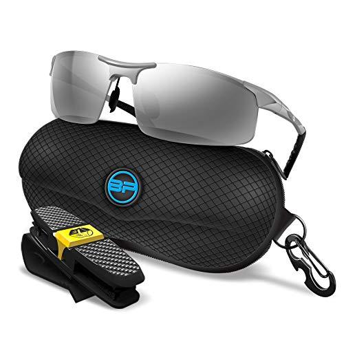 BLUPOND Sports Sunglasses for Men/Women - Anti Glare Polarized Glasses - Titan
