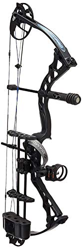 Diamond Archery Infinite Edge Pro Bow Package, Pink Blaze, Left Hand