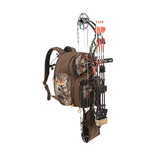 Gear Fit Pursuit Bruiser Deer Hunting Treestand Backpack Pack by Allen, Bow/Rifle Carry System,...