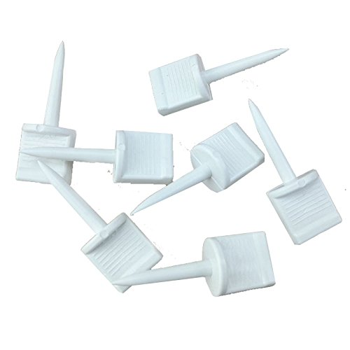25Pcs Plastic Archery Paper Target Face Pins Hunting Targets Accessories for Hold Paper Targets on...