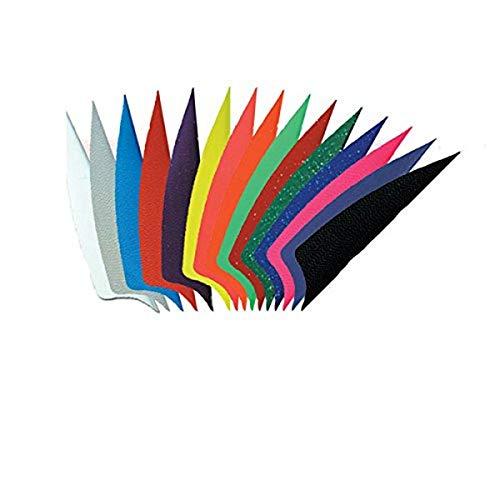 Bohning 2.25-Inch Shield Cut X-Vanes (36-Pack), Neon Orange