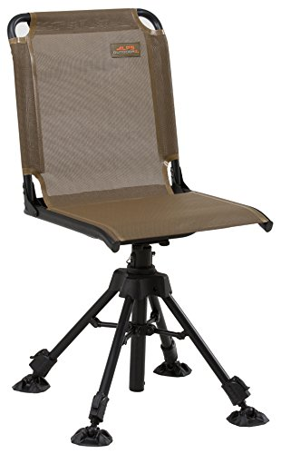 ALPS OutdoorZ Stealth Hunter Blind Chair, Brown (8433014)