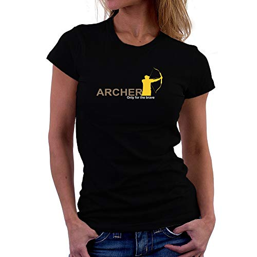 Teeburon Archery Only for The Brave Women T-Shirt