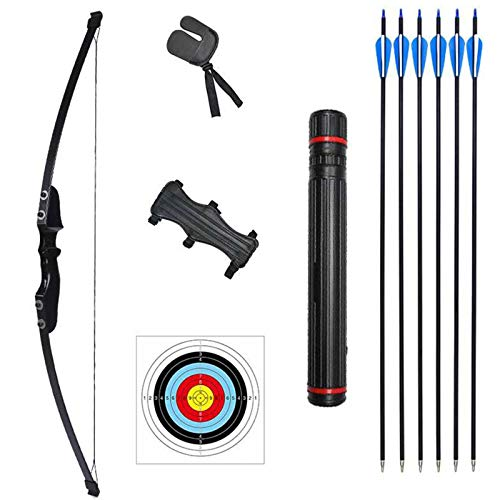 Rootmemory Archery Recurve Bow and Arrows Set for Adults 30 40 lbs with Quiver Target Faces Arm...
