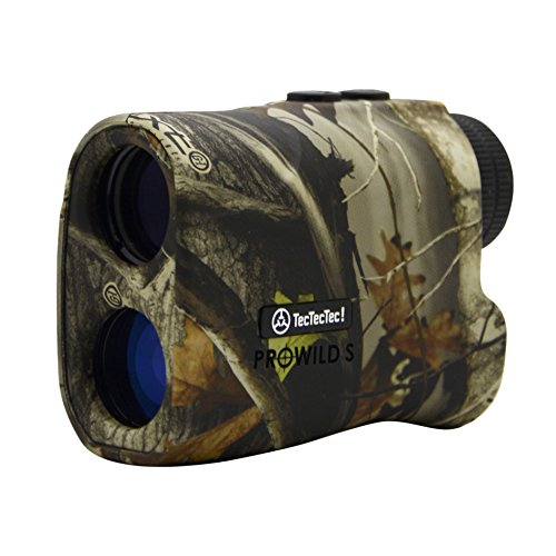 TecTecTec ProWild S with Angle Compensation - Laser Rangefinder for Hunting with Speed, Scan and...