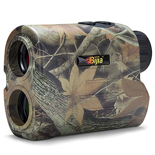 BIJIA Hunting Rangefinder - 6X 650Yards Multi-Function Laser Rangefinder for Hunting,Shooting,...