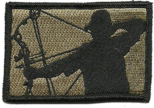 Tactical Bowhunter Patch (Coyote Tan)