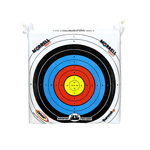 Morrell Youth Field Point Bag Archery Target - has NASP Rings, for Traditional or Youth Bows 30lbs...
