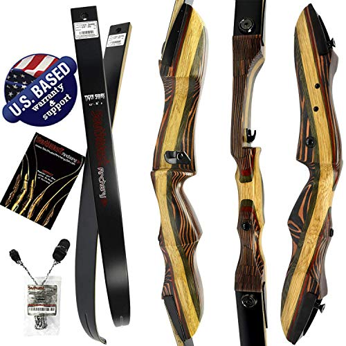 Southwest Archery Tigershark Takedown Recurve Bow - Pro, 25L