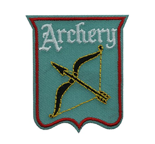 Archery Bow 2 inch Iron on Patch Ava3035