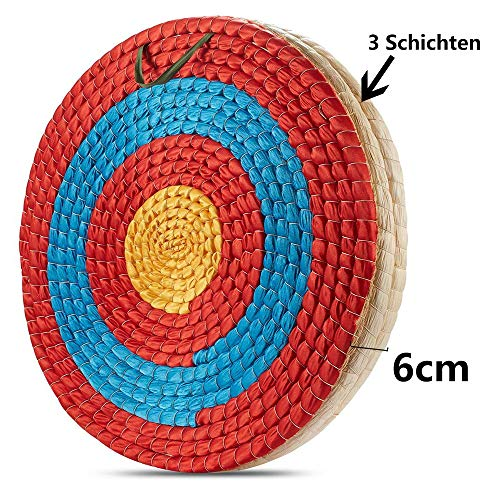 TOPARCHERY Traditional Solid Straw Archery Target Outdoor Sports Archery Shooting Bows Shooting...